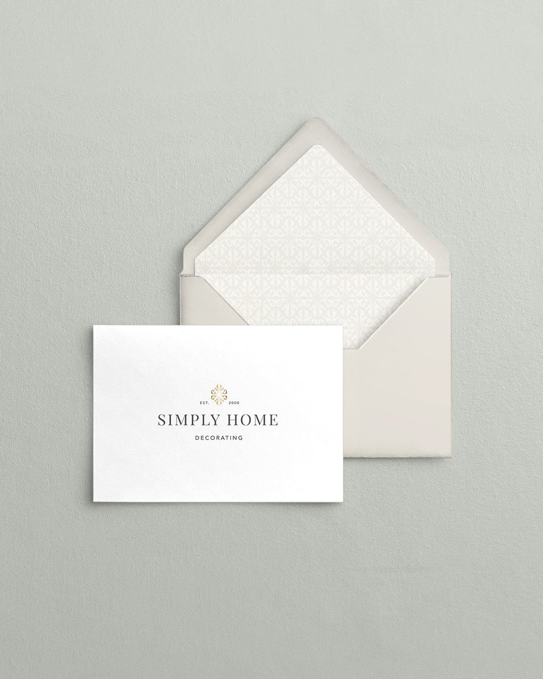 custom card collateral design simply home decorating interior designer