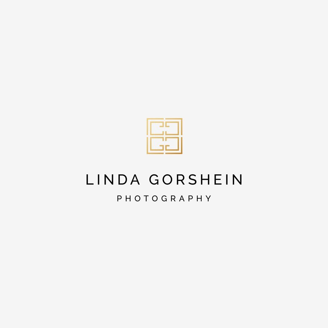 custom logo design branding linda gorshein photography design by taney creative