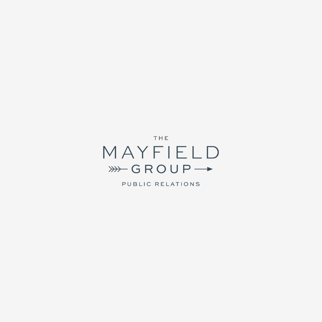 custom logo design branding mayfield group public relations
