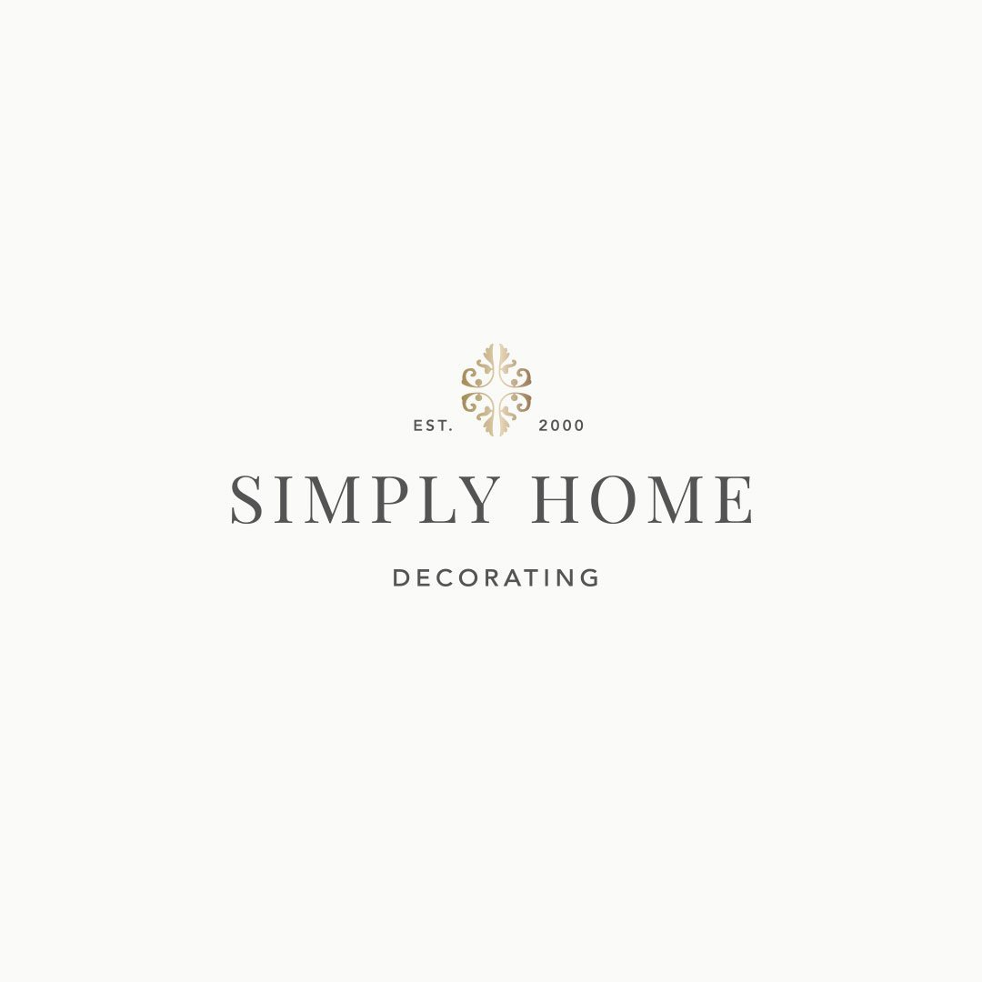 custom logo design luxe interior designer simply home decorating
