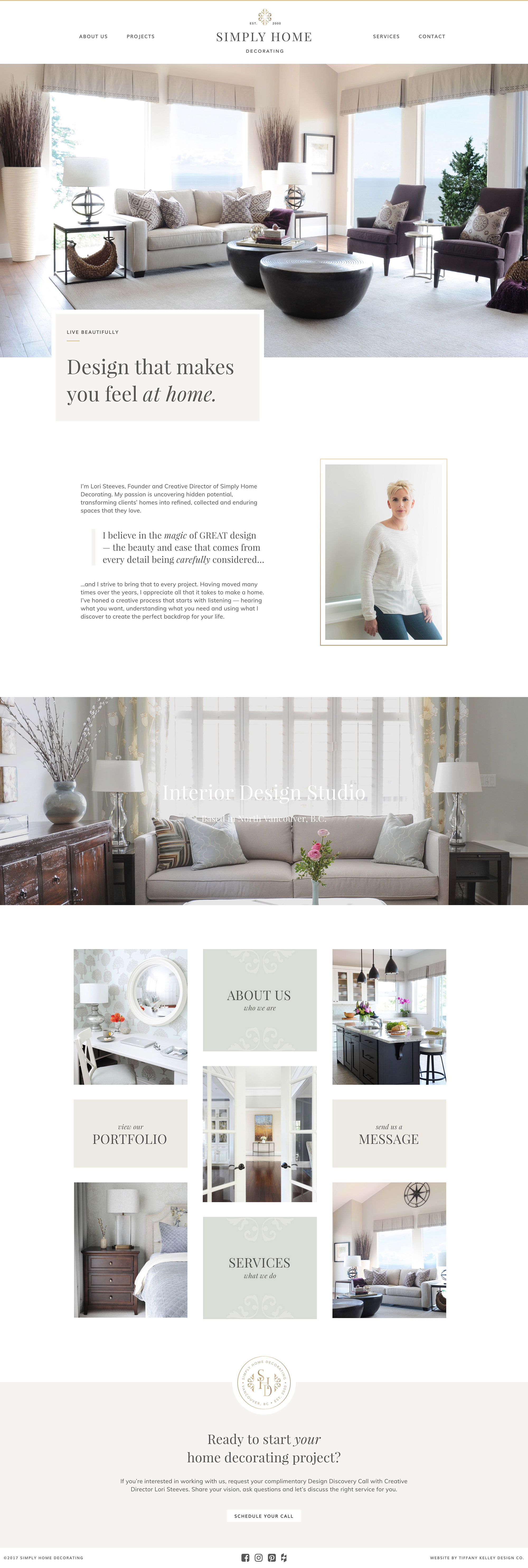 home web design simply home decorating