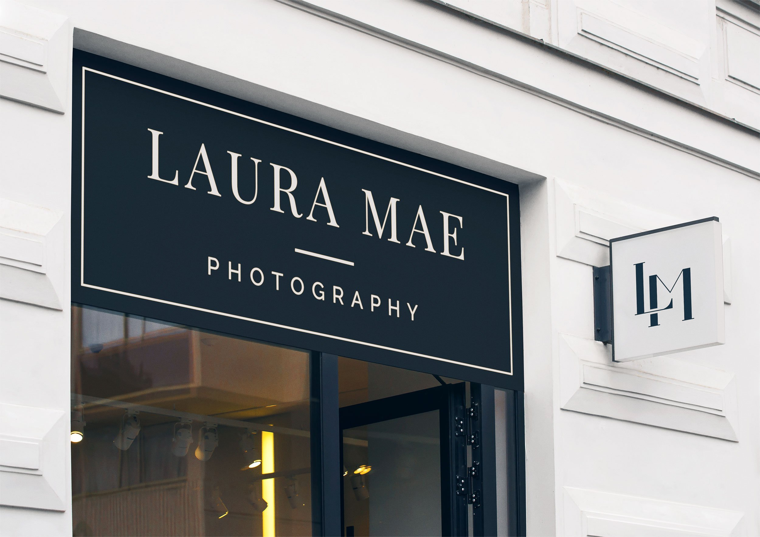 luxe branding laura mae photography by taney creative