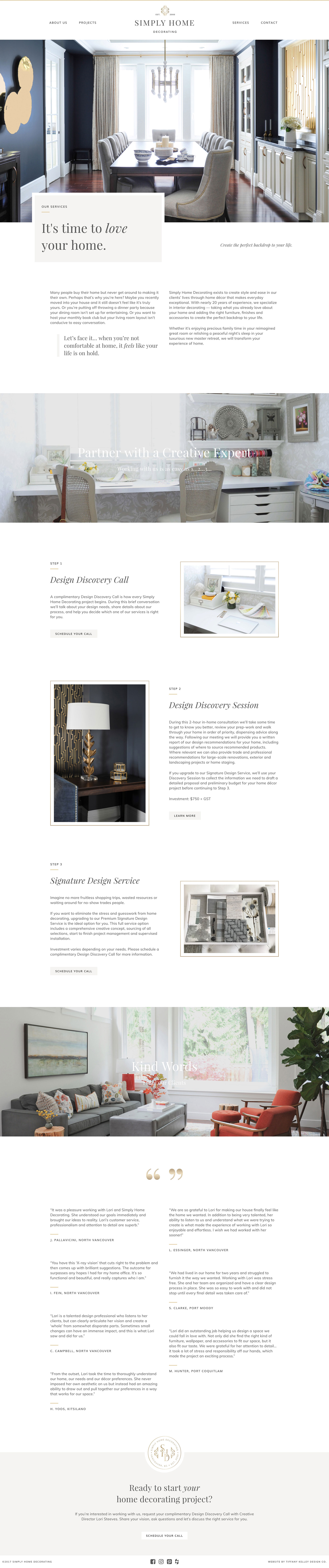 services web design simply home decorating