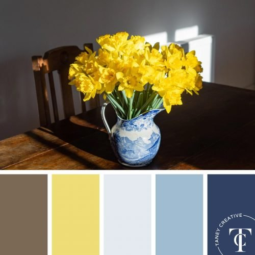 Daffodil Color Palette by Taney Creative@1x