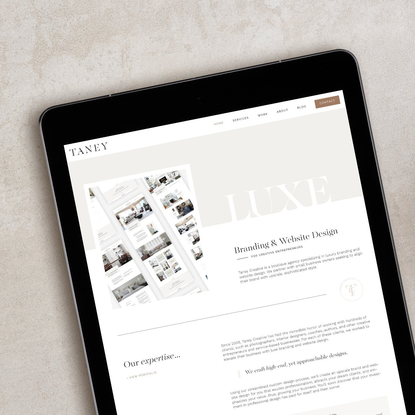 Taney Creative Website Design