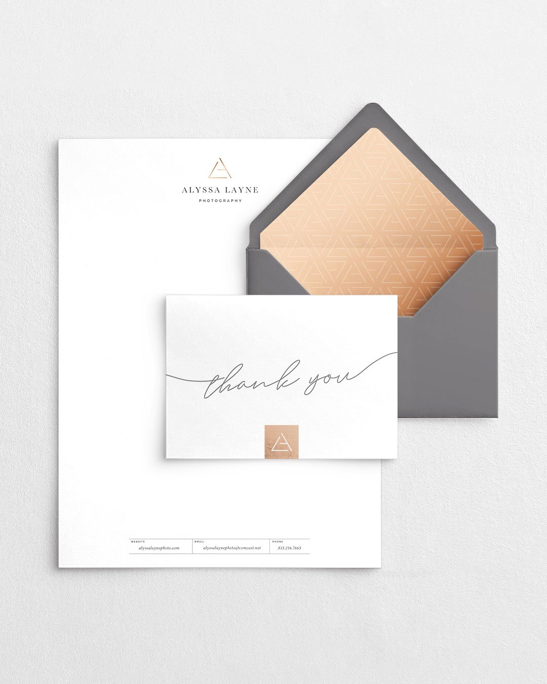 custom branding collateral design alyssa layne photography by taney creative