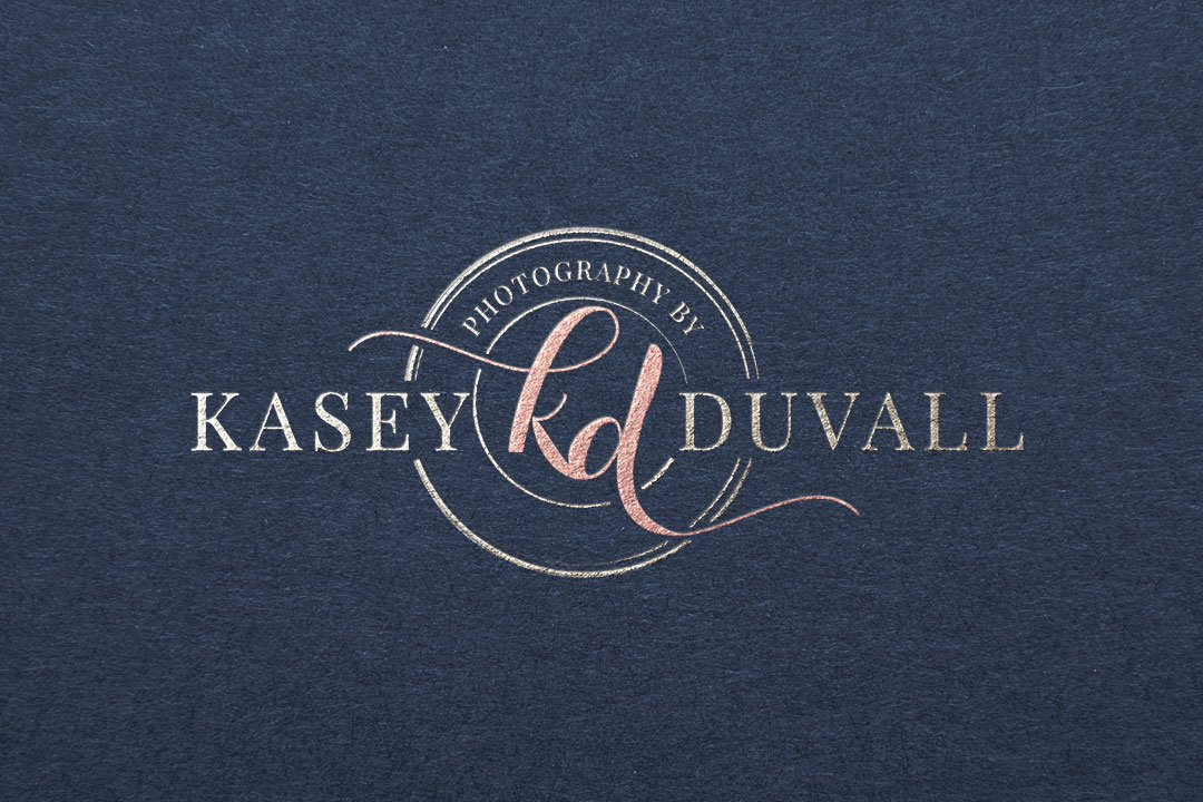 photographer logo design photography by kasey duvall design by taney creative