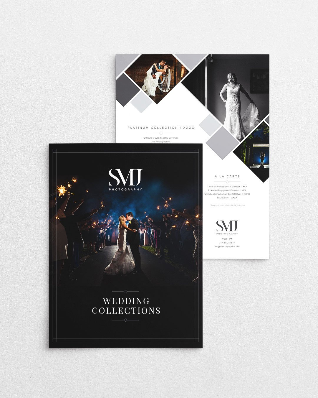 photographer price sheet design smj photography pricing guide by taney creative
