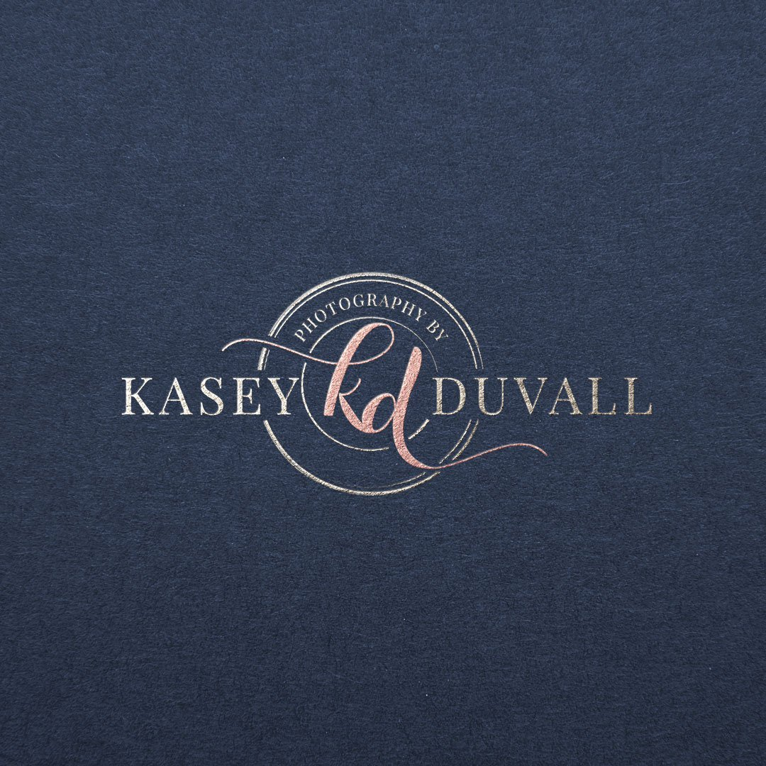photography by kasey duvall foil stamped logo design by taney creative
